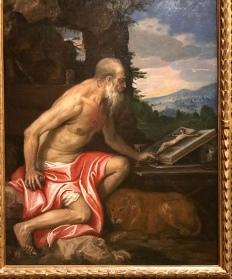 Saint Jerome in the Wilderness - Veronese