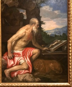 Saint Jerome in the Wilderness - Veronese