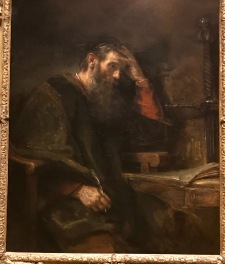 The Apostle Paul - Rembrandt Van Rijn