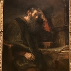 The Apostle Paul - Rembrandt Van Rijn