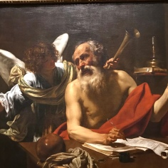 Saint Jerome and the Angel - Simon Vouet