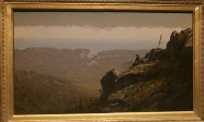 The Artist Sketching at Mount Desert, Maine - Sanford Robinson Gifford