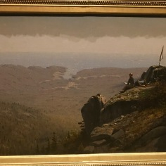 The Artist Sketching at Mount Desert, Maine - Sanford Robinson Gifford